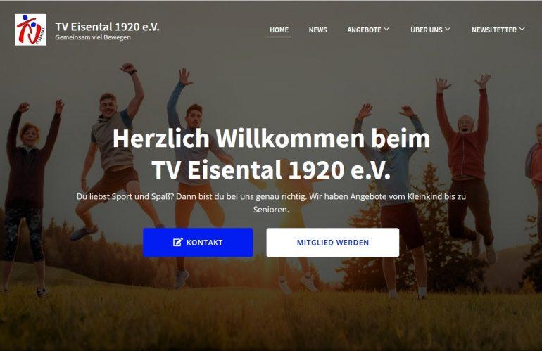 Geschafft – wir haben die TVE-Homepage runderneuert